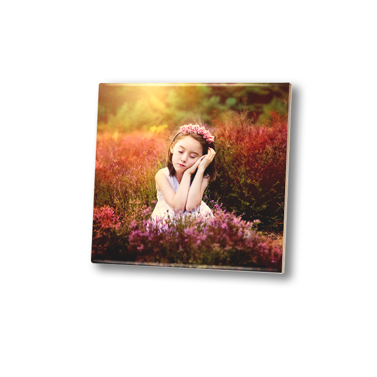 Popular home decoration 6 inch blank sublimation coating for ceramic tiles