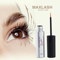 MAXLASH Natural Eyelash Growth Serum (tweezers for eyelashes)