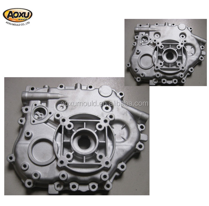 Machine process aluminum die casting mould making