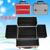 BCB16A002 aluminum Beauty case makeup train case