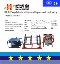 SH160-315 PEHD Pipe Butt Welders with high quality China hot selling Butt Fusion Welding Machine for PE Plastic Pipe