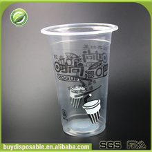 heat resistant clear plastic disposable tea wine cups