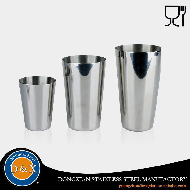 2 Pieces Stainless Steel Cocktail Shaker Boston
