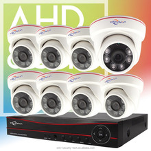 Vitevison brand security camera system 8channel AHD DVR Kit with ahd dome camera