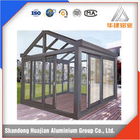 Outdoor glass room aluminum profile for sunlight room