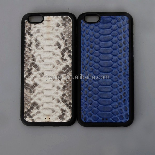 100% Python Snakeskin High Quality for Iphone 6 Case Leather Genuine