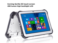 2015 New Product 10 inch IPS screen 1920*1200 RAM 2GB ROM 32GB OS android W8.1 quad core wifi GPS NFC ip67 rugged tablet pc