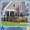 Galvanized palisade picket fence wrought iron fence panels for republic company building