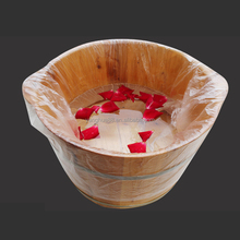 Disposable Foot Barrel Tub Liners Bath Basin for Foot Pedicure Spa foot spa plastic bags