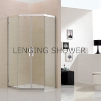 Custom-made stainless steel shower cubicles price parts