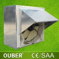 Strong power outdoor wall mounted exhaust fan for industry used