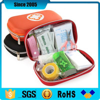 new product eva first aid zipper case and bag with printing cross