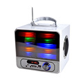 Bluetooth Flashing DJ Lights Built-in Rechargeable Battery with Wireless Karaoke speaker MSP-1045