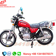 Guangzhou motorcycle factory sale KAVAKI Classical 125cc Street Bikes Gasoline GN125 Motorcycle
