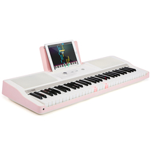 Teach kids to play--The ONE musical toys child flexible piano keyboard baby piano