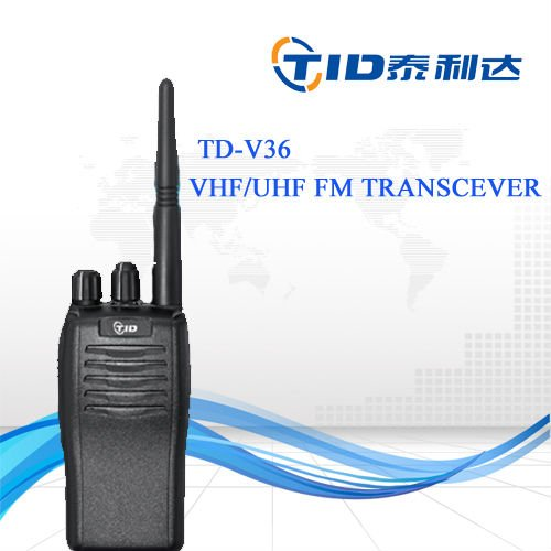 Td-v36 professional 5watt vhf uhf 16ch handy talky wireless interphone compared to GP338 plus
