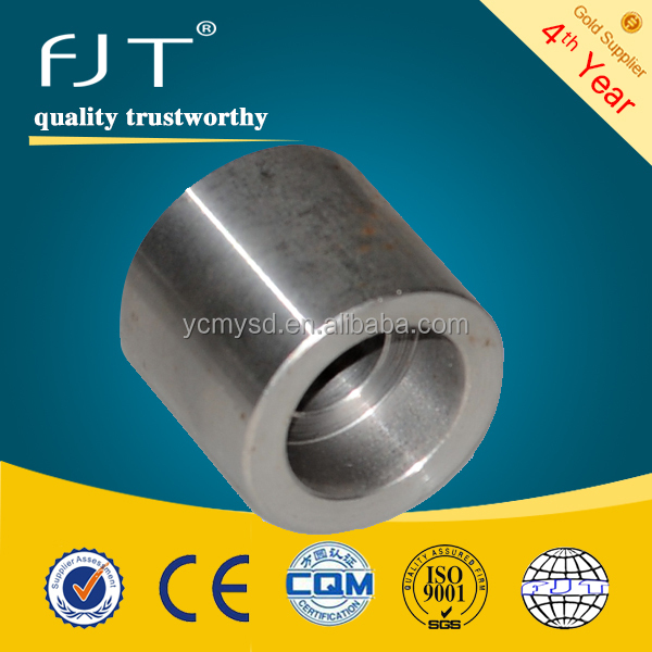 Forged pipe fittings sw 3000 stainless steel coupling pipe fittings