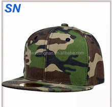 Camo Camouflage Army Military Snapback Baseball Brim Cap