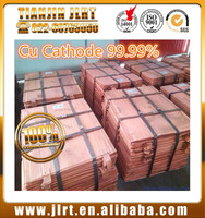 2017 high purity and lower price electrolytic cathode copper 99.99% for sale