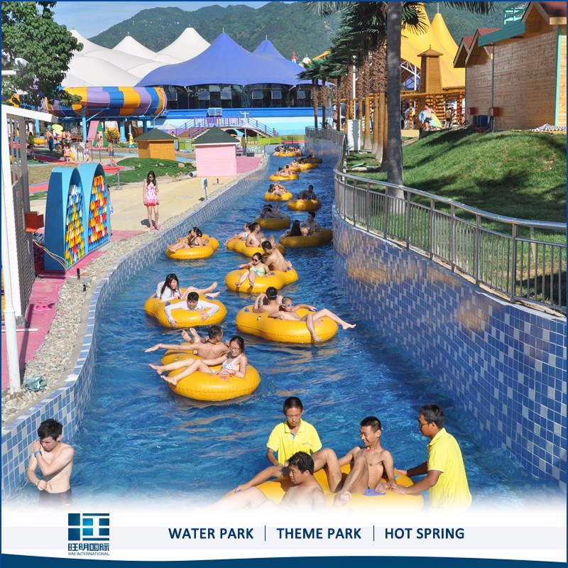 Water park project lazy river for children/adults