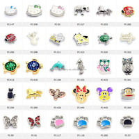Hot sell origami owl floating charms wholesale,glocket floating locket charms mix