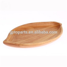New Round Wooden Plat nature high quality Wooden boat