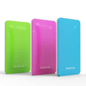 bluetimes power bank 5000 phone charger with multi colors