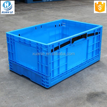 Wholesale plastic collapsible vegetable crate boxes manufacturer
