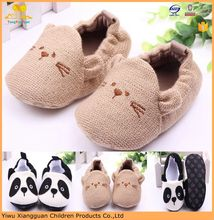 Fashion Crochet baby shoes cute animal kids frewalker shoes soft sole baby shoes
