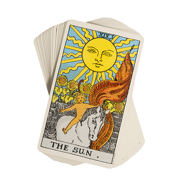 Manufacture Super Waterproof Mini Tarot Cards