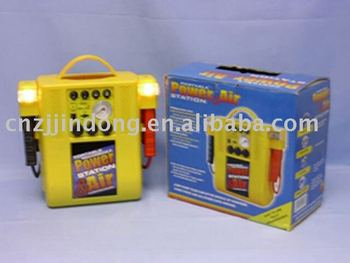 Factory selling of 12v High quality car jump start with air compressor