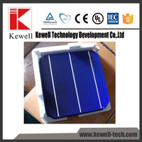 good price high efficiency triple junction 156*156 3BB Taiwan mono solar cell