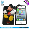 Bear shape fancy cartoon protective case for iphone