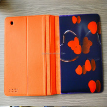 pu metarial with sublimation cellphone case for ipad2/3