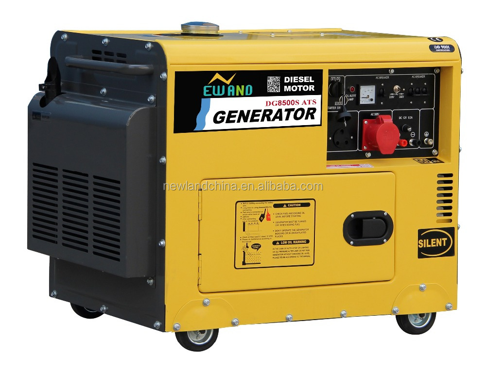 For sale low price 6500 diesel generator head for sale silent generator 5kw silent generator