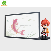 "1 year free warranty 55"" inch LCD advertising clear transparent lcd display for advertising"