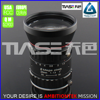 "8mega pixels 1"" 25mm F1.4 C mount Highly Compact Bright Images from industrial camera manual iris optical Lens"