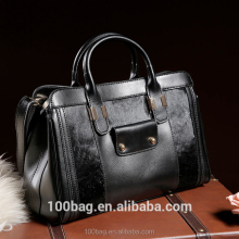 2016 new European and American leather handbags large leather shoulder bag ladies handbag