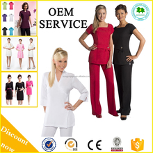 2015 New Fashion Hospital uniform Medical scrubs Beauty salon uniform For Spa With Hot Sale Style