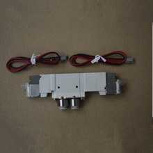 In stock high quality offset printing parts Hamada 24v solenoid valve