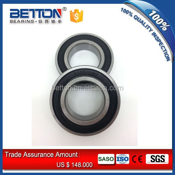 6002-2RS 6002RS Deep Groove Rubber Shielded Ball Bearing