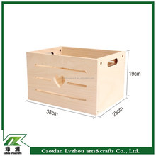 whosale factory direct packing unfinished wood crate