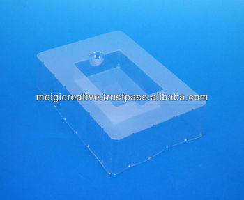 Clear PVC Plastic Tray for Playing Cards