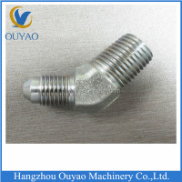 Nickel Plated Brass Double Male 45 Degree Flare Elbow Fittings