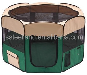 Folded pet playpen dog enclosure dog playpen dog exercise pen