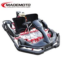 Racing mini go kart toys adult karting with safe bar/optional safety bumper 10 inch go kart tire