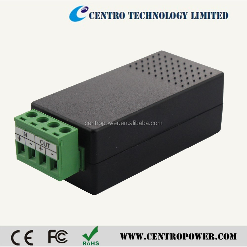 voltage converter 1500mA 24VAC to 12VDC for CCTV made in China
