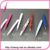Christmas promotional gifts eyebrow tweezer stainless steel