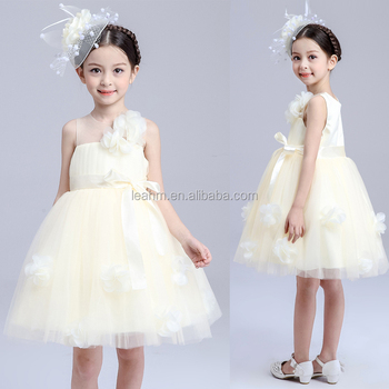 Factory direct sale new custom baby girls dresses cute girl child dress cheap child clothes
