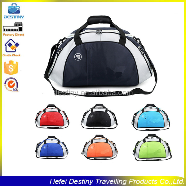 2015 top quality multifunctional travel sport leisure football travelling bag